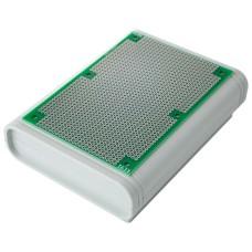 KE91-PROTOKIT Universal PCB Circuit Matrix Board + ABS Box Enclosure for Electronic Prototypes