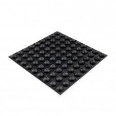 RF06 Self-Adhesive Rubber Foot - Sheet of 81, 11.5 x 5.6MM
