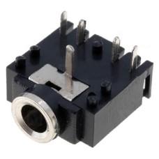 JS52 Stereo Jack Socket Audio Connector, 3.5MM