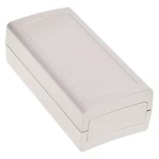 KE98-G Enclosure with removable End Plates, Light Grey, 120.8 x 60.7 x 40.2MM