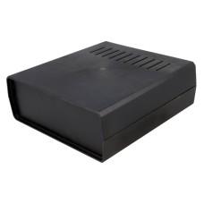 KE1AV-B Desktop Enclosure, Black, Vented 171.0 x 178.0 x 67.6mm