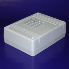 KE80-G Project Plastic Case, Circuit Edge, Light Grey, 119.0 x 90.0 x 38.0MM
