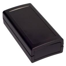 KE97-B Enclosure with removable End Panels, Black, 121.0 x 61.0 x 32.0MM