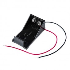 BH2  Battery Holder with Flying Leads, PP3 9V