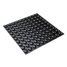 RF01 Self-Adhesive Rubber Bumpons - Sheet of 100, 9.9 x 4.0 x 3.0MM