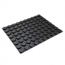 RF03L Adhesive Rubber Stick-On Feet 12.2 x 4.5MM - Sheet of 80