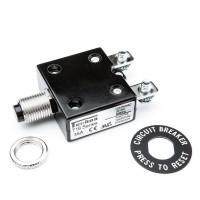 CB1 Circuit Breaker 35A Panel Mount Single Pole Manual Reset