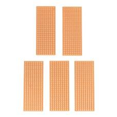 SPD-01 Fully Pierced Stripboard, PCB, Vero Style Circuit Board 25 x 64MM - Lot of 5
